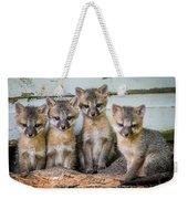Four Fox Kits Weekender Tote Bag