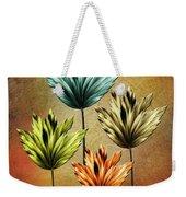 Four Fractal Flower Weekender Tote Bag