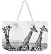 Four Giraffes Weekender Tote Bag