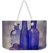 Four Glass Bottles Weekender Tote Bag