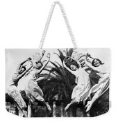 Four Leaping Grecian Dancers Weekender Tote Bag