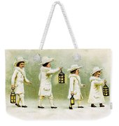 Four Little Girls Weekender Tote Bag