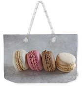 Four Macarons In A Row Weekender Tote Bag