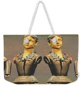 Four Mannequins Two Weekender Tote Bag