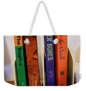 Four Of My Ten Books Published Weekender Tote Bag