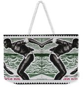 Four Olympic Swimmers 1964 Photomontage Weekender Tote Bag