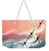 Four On A Curve Weekender Tote Bag