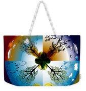 Four Seasons Roundel Weekender Tote Bag