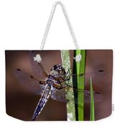 Four-spotted Skimmer Weekender Tote Bag