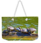 Four Turtles Weekender Tote Bag