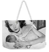 Fourteen Year Old Mother Weekender Tote Bag