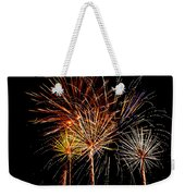 Fourth Of July Fireworks  Weekender Tote Bag by Saija  Lehtonen