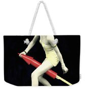 Fourth Of July Rocket Girl Weekender Tote Bag by Underwood Archives
