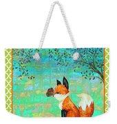 Fox-d Weekender Tote Bag