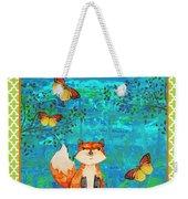 Fox-e Weekender Tote Bag