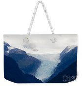 Fox Glacier On South Island Of New Zealand Weekender Tote Bag