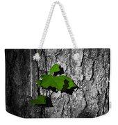 Fox Grape On Pine Weekender Tote Bag