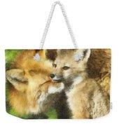 Fox One Weekender Tote Bag