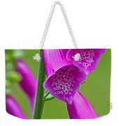 Foxglove Digitalis Purpurea Weekender Tote Bag