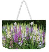 Foxglove Garden In Golden Gate Park Weekender Tote Bag