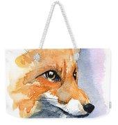 Foxy Weekender Tote Bag