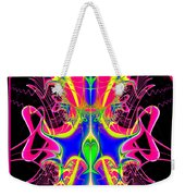 Fractal 15 Color Cacophony  Weekender Tote Bag
