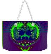 Fractal 25 Emerald Crown Jewels Weekender Tote Bag