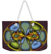 Fractal Art Egg Weekender Tote Bag