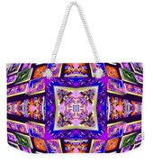 Fractal Ascension Weekender Tote Bag by Derek Gedney