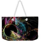 Fractal - Black Hole Weekender Tote Bag