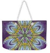 Fractal Blossom Weekender Tote Bag by Derek Gedney