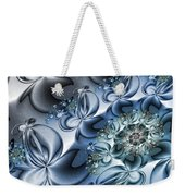 Fractal Dancing The Blues Weekender Tote Bag