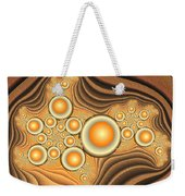 Fractal Eggs In The Depth Weekender Tote Bag