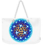 Fractal Escheresque Winter Mandala 10 Weekender Tote Bag