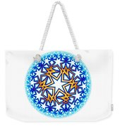 Fractal Escheresque Winter Mandala 2 Weekender Tote Bag