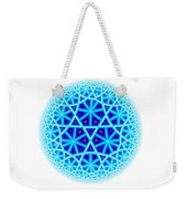 Fractal Escheresque Winter Mandala 4 Weekender Tote Bag