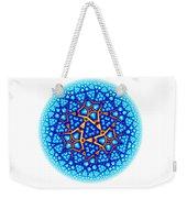 Fractal Escheresque Winter Mandala 8 Weekender Tote Bag