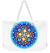 Fractal Escheresque Winter Mandala 9 Weekender Tote Bag