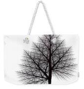 Fractal Essence Of A Tree Weekender Tote Bag