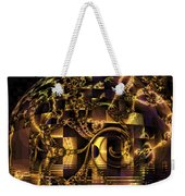 Fractal Flooding Weekender Tote Bag
