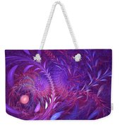 Fractal Flower Fields Weekender Tote Bag