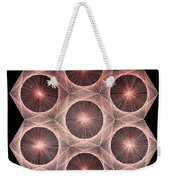 Fractal Fusion Hw Equals Mc Squared Weekender Tote Bag by Jason Padgett