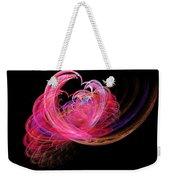 Fractal - Heart - Lets Be Friends Weekender Tote Bag