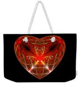 Fractal - Heart - Open Heart Weekender Tote Bag