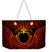 Fractal - Heart - Victorian Love Weekender Tote Bag