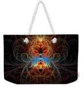 Fractal - Insect - Black Widow Weekender Tote Bag
