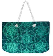 Fractal Interference Weekender Tote Bag by Jason Padgett