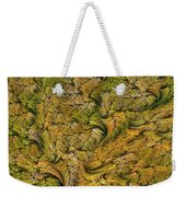 Fractal Leaf Mat-- 2 Weekender Tote Bag