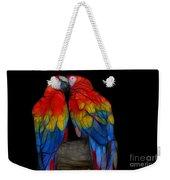 Fractal Parrots Weekender Tote Bag