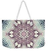 Fractal Snowflake Pattern 1 Weekender Tote Bag